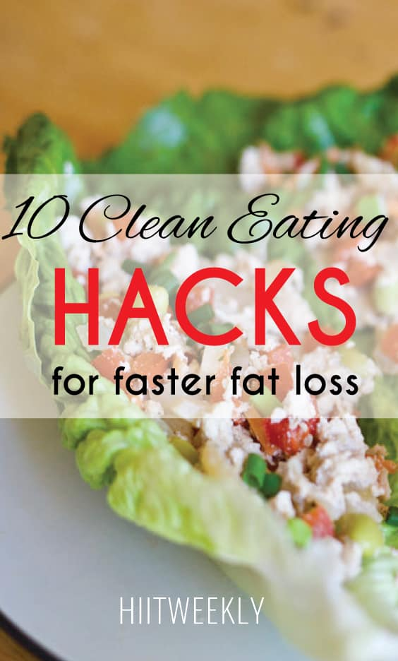 make clean eating easier with these 10 clean eating food hacks for beginners.