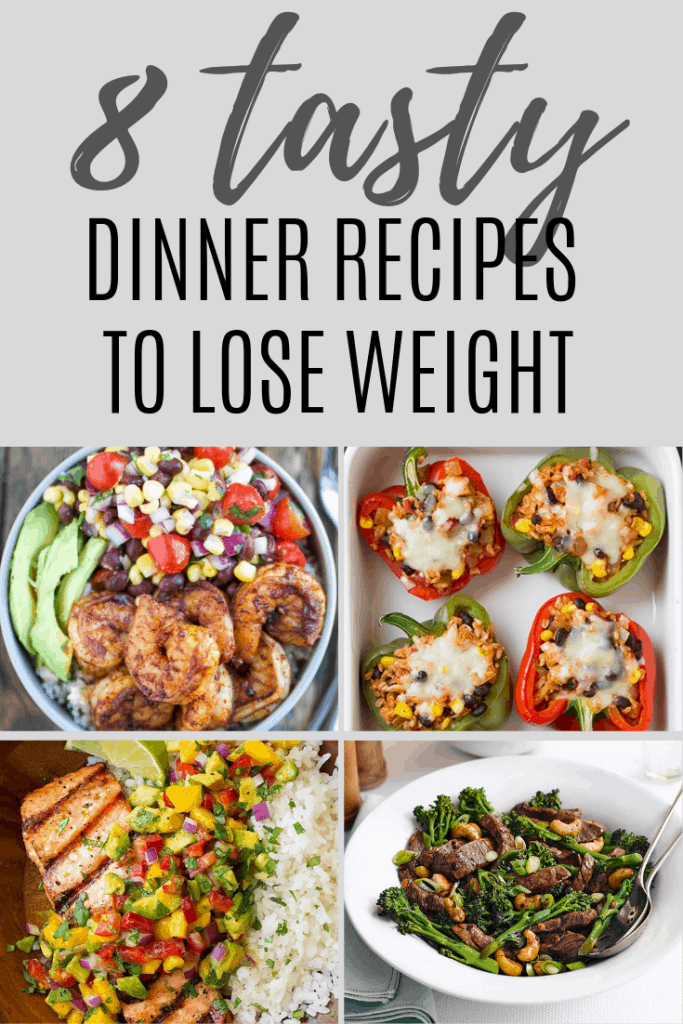 Eating healthy is the fastest way to lose weight. Here are 8 healthy dinner recipes to help you lose weight faster.