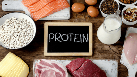 keep hunger at bay by increasing your protein intake. Weight Loss tips.
