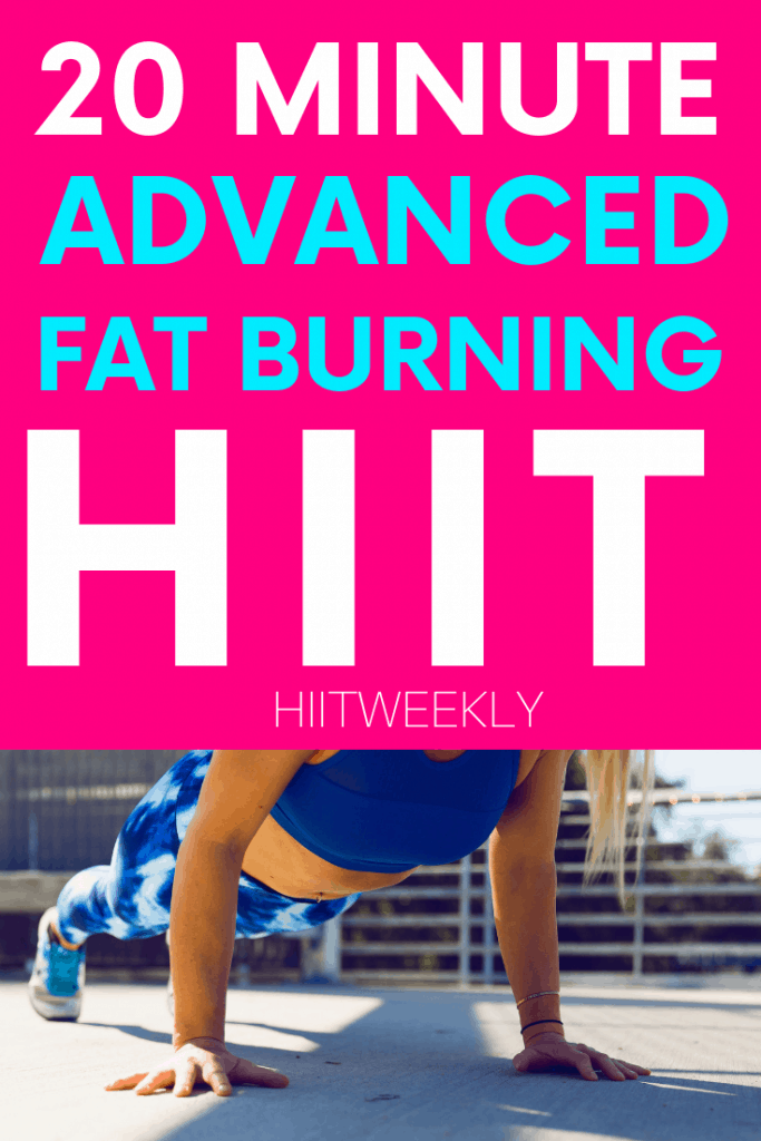 If you're looking for a tough workout then you have to do this advanced HIIT workout. It will only take 20 minutes but you will feel amazing afterwards. Its hard to be ready to workout to your max.