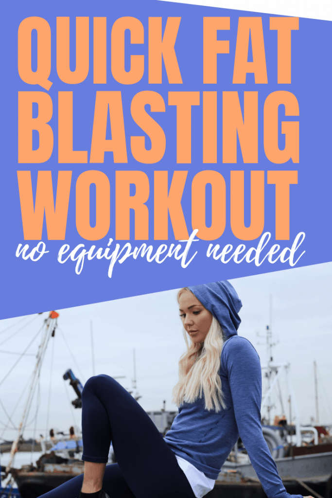 For a quick workout try this quick at home workout to blast fat and get into great shape in next to no time. No equipment needed, try it today.