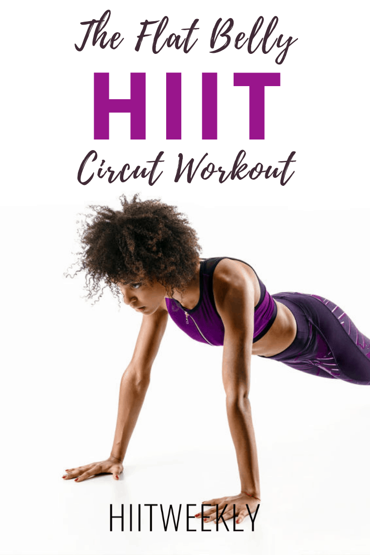 Check out this Beginners HIIT Circuit Workout For Women to get a Flat Belly. Its great for weight loss and uses weights in a circuit. beginners Full Body HIIT Circuit. Get the full workout here.