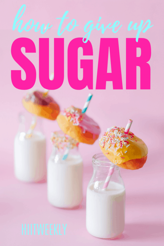 Learn how you can give up sugar for good with these 6 easy to follow steps. Quitting sugar will help you lose weight and stay healthy.
