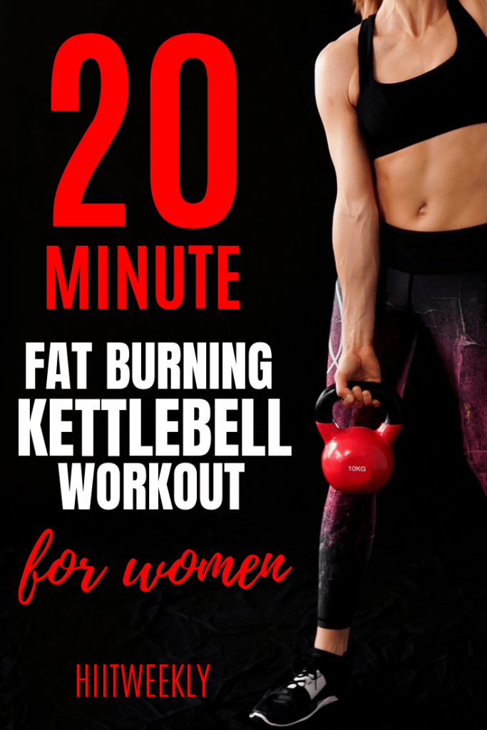 Kettlebells are one of the best fat burning pieces of exercise equipment you can buy. Our 20 minute kettlebell workout for women will help you shred body fat in no time. Do our quick 20 minute full body kettlebell workout today.