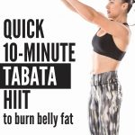 In just 10 minute time you can have a great workout. This quick fat burning kettlebell Tabata workout is the ideal time saving workout that you can do at home with just a singel kettlebell when you are in a rush.