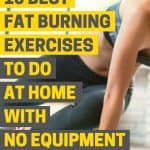 Lose belly fat fast with this 10-minute Cardio HIIT workout with no equipment.