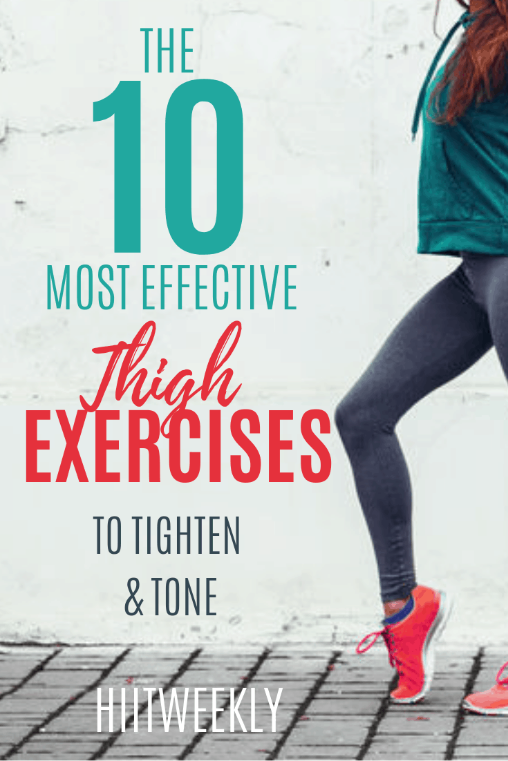 Get rid of unwanted thigh fat with these 10 exercises dexsigned to target your inner thighs and glutes for more tighter and toned legs. Plus get the kettlebell thigh and butt workout to lose wieght in your thighs form home.