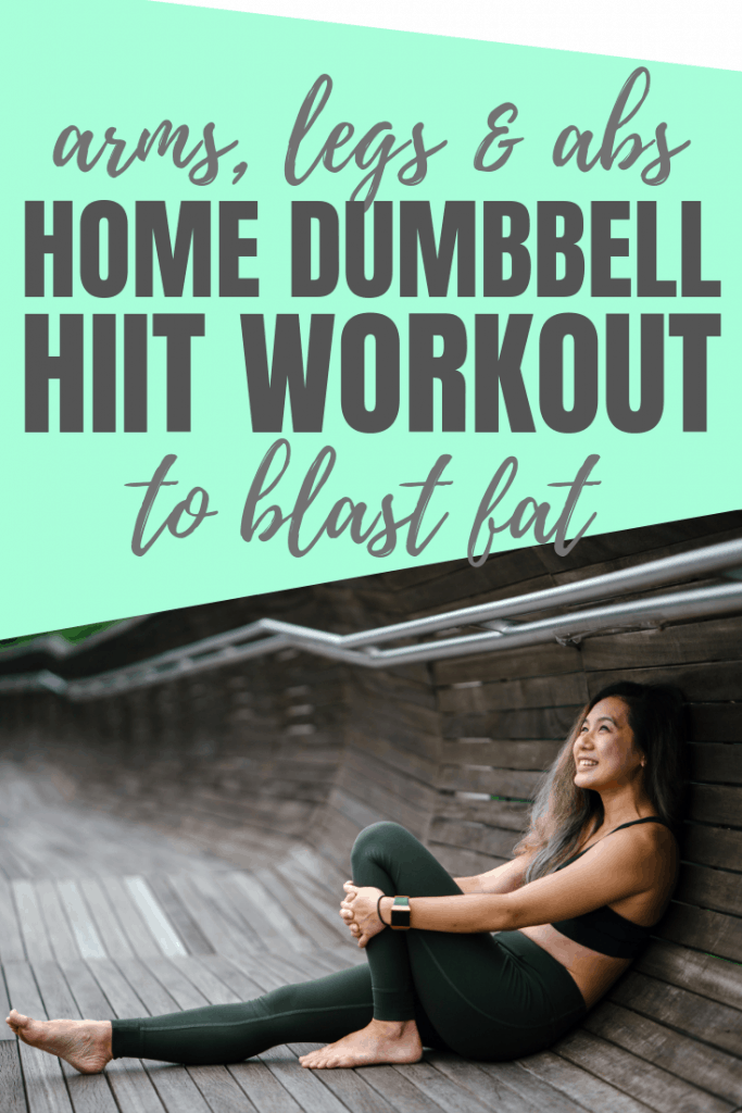 Want toned arms, tight thighs and a flat abs? this is the workout for you. Do it at home with dumbbells for rapid fat loss.
