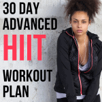 This is the 30 day workout plan you need to get yourself into shape fast! You don't need any equipment as all the exercises are bodyweight only so anybody can get down and sweaty anywhere. This is defiantly an advanced workout plan with a different HIIT workout on each day of the week.