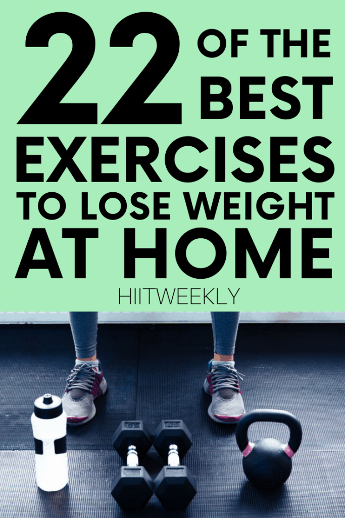 Maximize your time spent doing the right exercises to lose weight. here is your list of the best weighted and non weighted exercises to lose weight fast.