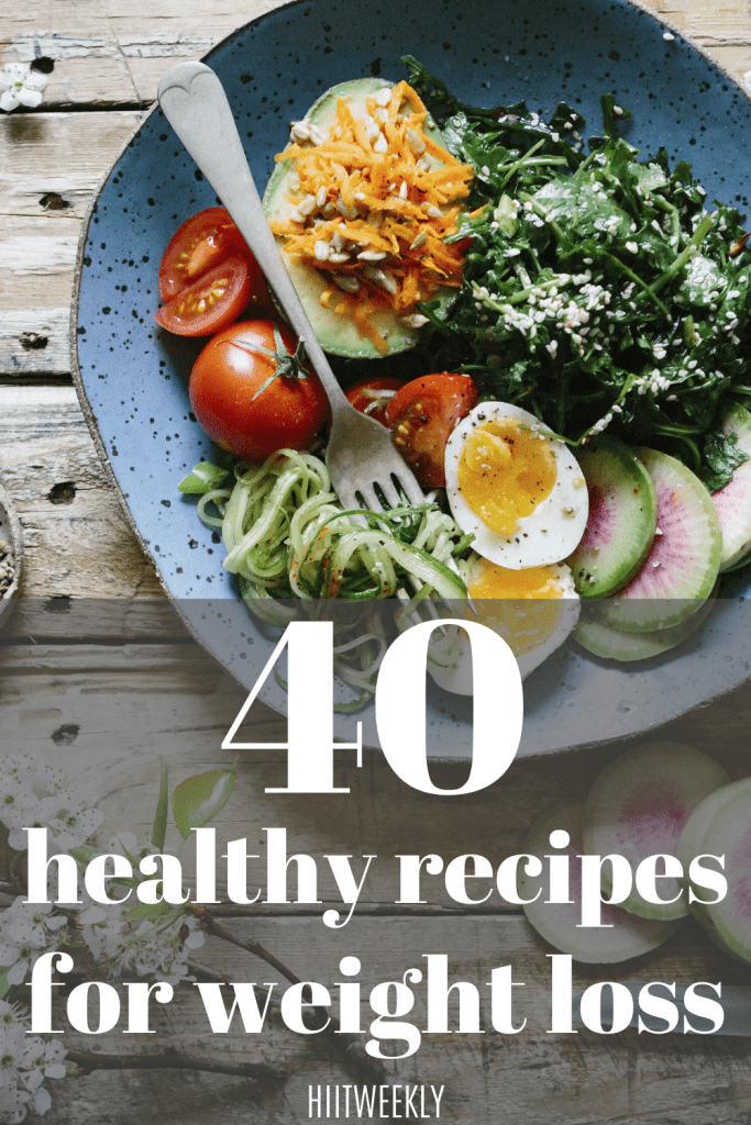 40 super healthy recipes to help you lose wieght and succeed on your new healthy eating plan.