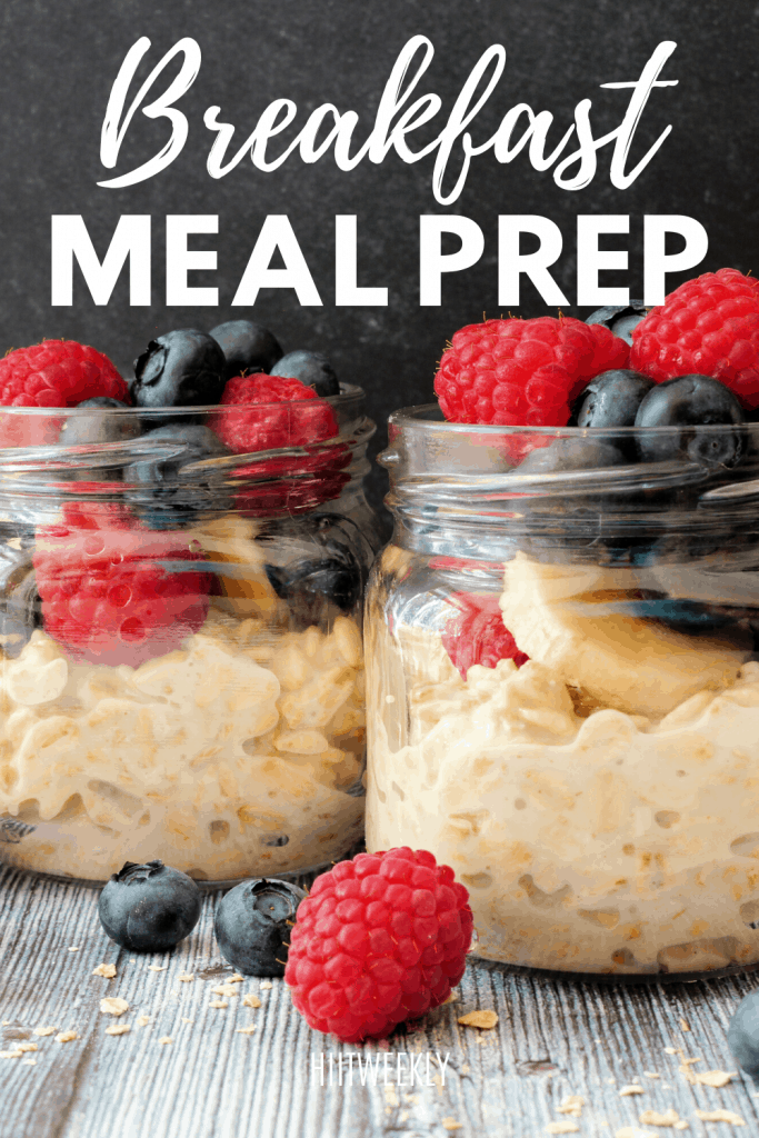Meal prep is a great way to help you make your meals ahead of time, try these breakfast meal prep recipes to get you off to a great day.