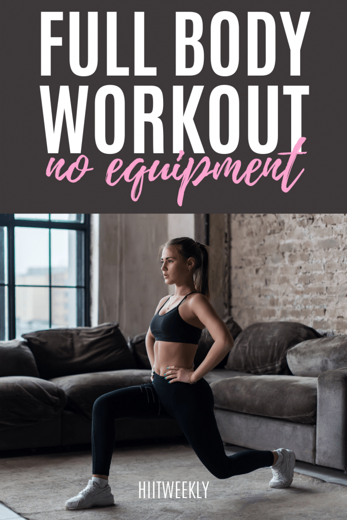 This is your home workout that uses no equipment for a fast paced workout you will love. Try it now.