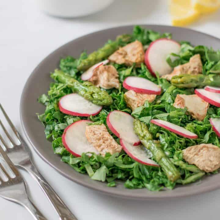 Chicken Asparagus Salad