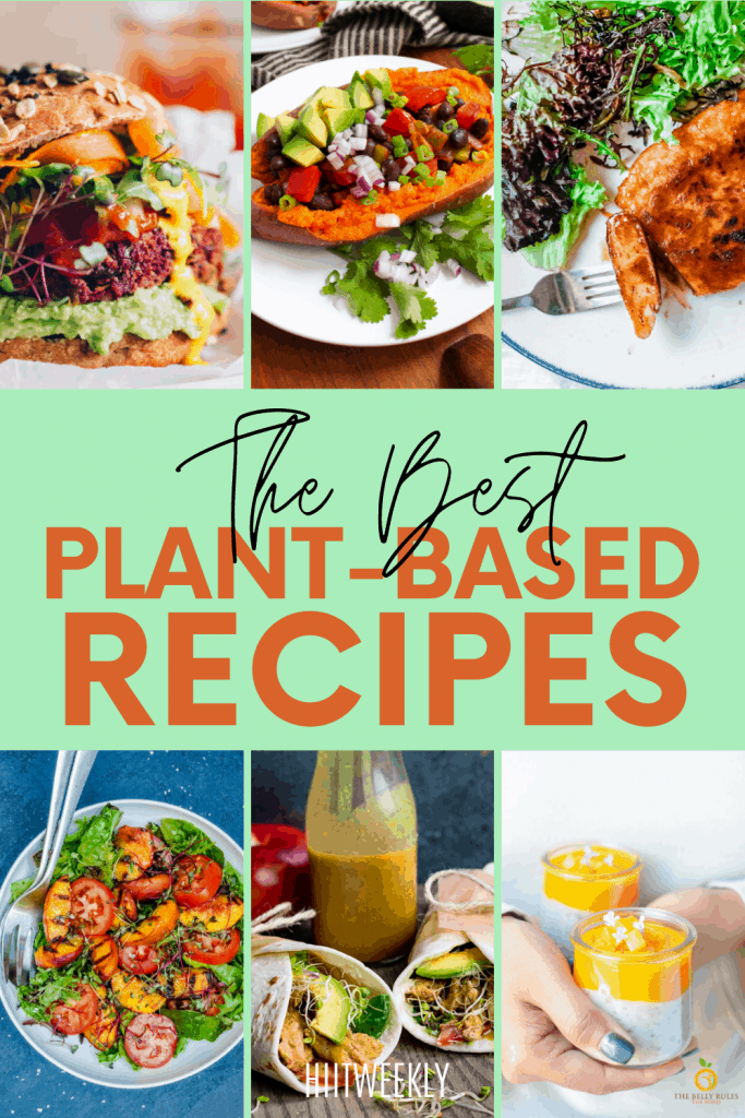Start your plant-based doet off the right way with these healthy vegan recipes.