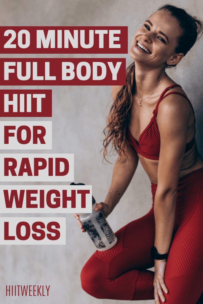 Smash your weight loss goals with this 20 minute quick and simple, home workout routine for rapid fat loss. All you need is a weight of some kind such as a dumbbell or kettlebell and the motivation to just get it done. It's quick, it's fun and will get you results.