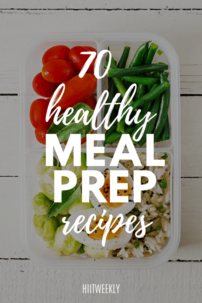 Here are over 70 healthy and delicious meal prep recipes that we are sure you will love. Including meat-free vegan meal prep options.