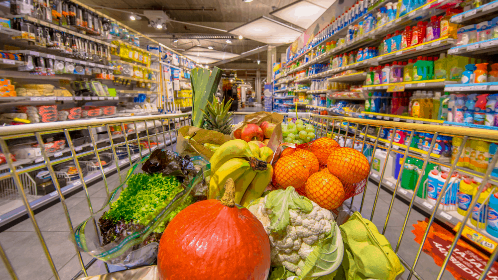 Be sure to stay well stocked up on produce in order to stick to your healthy eating plan.