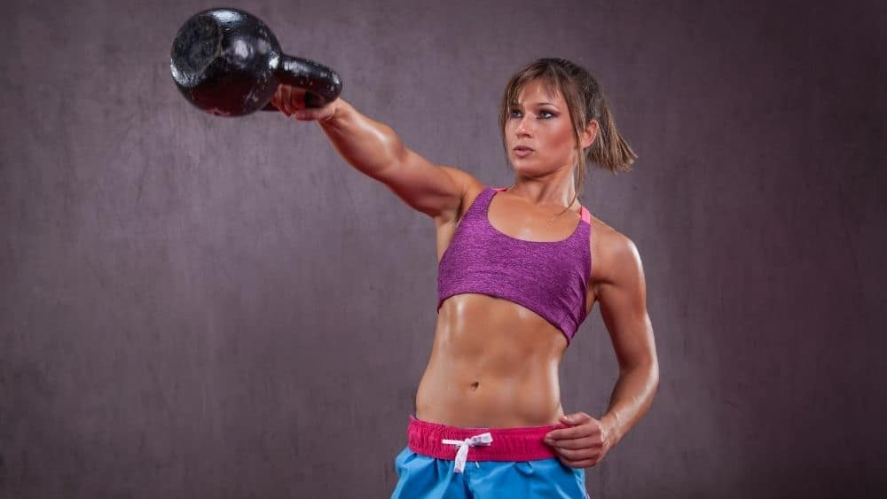 Why kettlebells are so good for weight loss and getting fit.