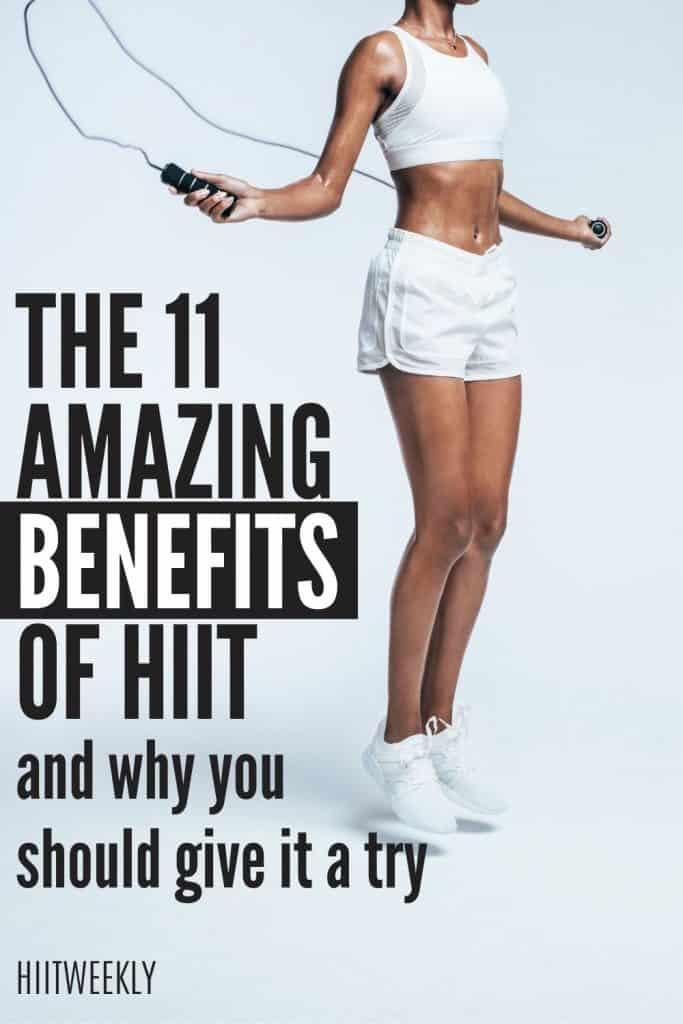 Here are some solid reasons why you should be including some High-Intensity Interval Training with these 11 benefits of HIIT.